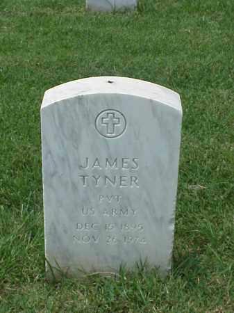TYNER (VETERAN WWI), JAMES - Pulaski County, Arkansas | JAMES TYNER (VETERAN WWI) - Arkansas Gravestone Photos