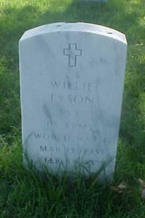 TYSON (VETERAN WWI), WILLIE - Pulaski County, Arkansas   WILLIE TYSON (VETERAN WWI) - Arkansas Gravestone Photos