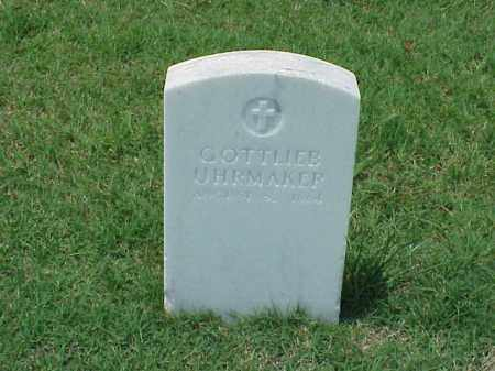UHRMAKER (VETERAN UNION), GOTTLIEB - Pulaski County, Arkansas | GOTTLIEB UHRMAKER (VETERAN UNION) - Arkansas Gravestone Photos