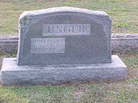 UNGER, RALPH L - Pulaski County, Arkansas | RALPH L UNGER - Arkansas Gravestone Photos