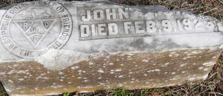 UNKNOWN, JOHN - Pulaski County, Arkansas | JOHN UNKNOWN - Arkansas Gravestone Photos