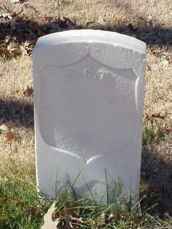 UNKNOWN (VETERAN), J C T - Pulaski County, Arkansas | J C T UNKNOWN (VETERAN) - Arkansas Gravestone Photos