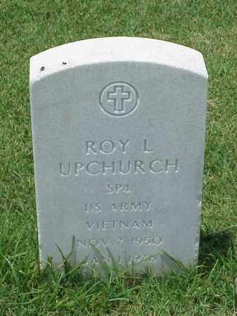 UPCHURCH (VETERAN VIET), ROY L - Pulaski County, Arkansas   ROY L UPCHURCH (VETERAN VIET) - Arkansas Gravestone Photos