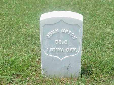 UPTON (VETERAN UNION), JOHN - Pulaski County, Arkansas | JOHN UPTON (VETERAN UNION) - Arkansas Gravestone Photos