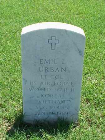 URBAN (VETERAN 3 WARS), EMIL L - Pulaski County, Arkansas | EMIL L URBAN (VETERAN 3 WARS) - Arkansas Gravestone Photos
