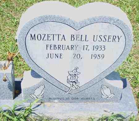USSERY, MOZETTA BELL - Pulaski County, Arkansas   MOZETTA BELL USSERY - Arkansas Gravestone Photos