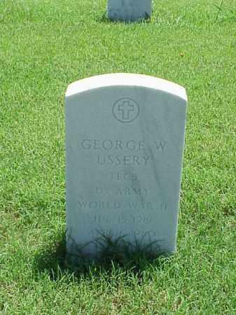 USSERY (WWII), GEORGE - Pulaski County, Arkansas   GEORGE USSERY (WWII) - Arkansas Gravestone Photos