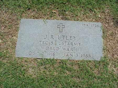 UTLEY (VETERAN WWII), J R - Pulaski County, Arkansas   J R UTLEY (VETERAN WWII) - Arkansas Gravestone Photos