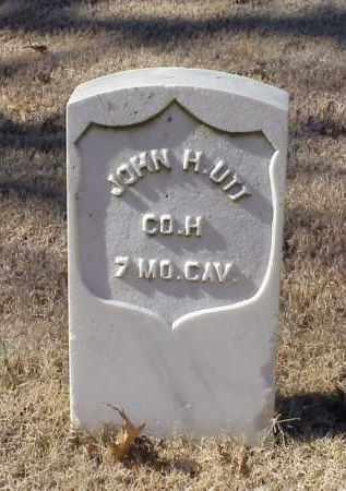 UTT (VETERAN UNION), JOHN H - Pulaski County, Arkansas   JOHN H UTT (VETERAN UNION) - Arkansas Gravestone Photos