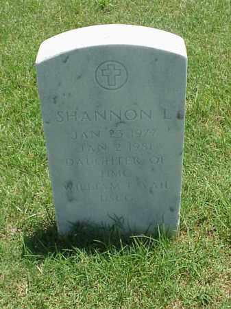 VAIL, SHANNON L - Pulaski County, Arkansas   SHANNON L VAIL - Arkansas Gravestone Photos