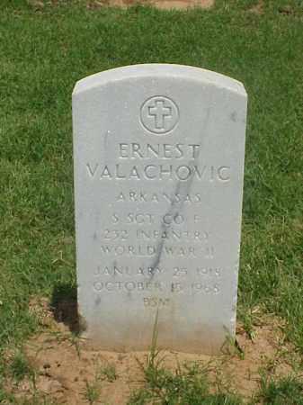 VALACHOVIC (VETERAN WWII), ERNEST - Pulaski County, Arkansas   ERNEST VALACHOVIC (VETERAN WWII) - Arkansas Gravestone Photos