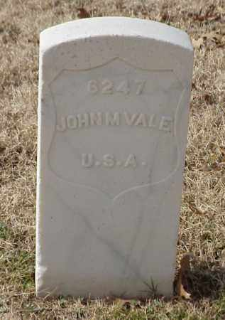 VALE (VETERAN UNION), JOHN M - Pulaski County, Arkansas | JOHN M VALE (VETERAN UNION) - Arkansas Gravestone Photos