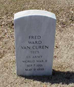 VAN CUREN (VETERAN WWII), FRED WARD - Pulaski County, Arkansas | FRED WARD VAN CUREN (VETERAN WWII) - Arkansas Gravestone Photos