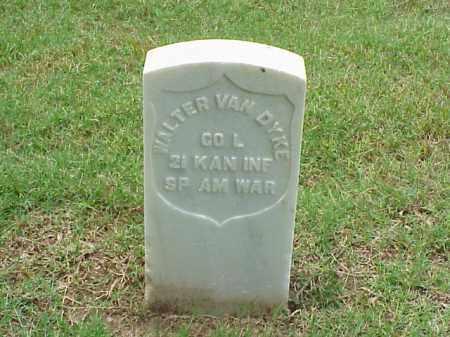 VAN DYKE (VETERAN SAW), WALTER - Pulaski County, Arkansas   WALTER VAN DYKE (VETERAN SAW) - Arkansas Gravestone Photos