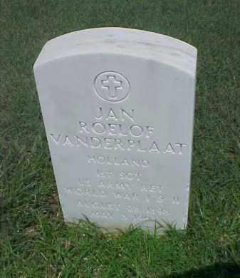 VANDERPLAAT (VETERAN 2 WARS), JAN ROELOF - Pulaski County, Arkansas | JAN ROELOF VANDERPLAAT (VETERAN 2 WARS) - Arkansas Gravestone Photos