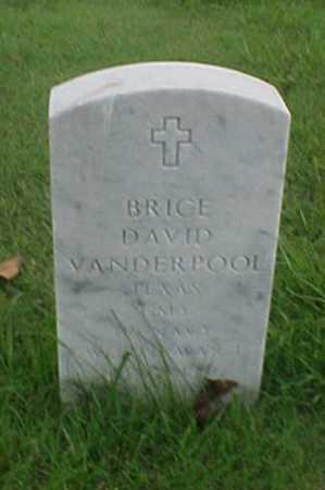 VANDERPOOL (VETERAN WWI), BRICE DAVID - Pulaski County, Arkansas | BRICE DAVID VANDERPOOL (VETERAN WWI) - Arkansas Gravestone Photos