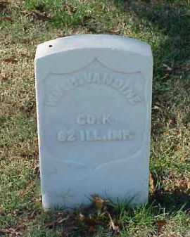 VANDINE (VETERAN UNION), WILLIAM H - Pulaski County, Arkansas   WILLIAM H VANDINE (VETERAN UNION) - Arkansas Gravestone Photos