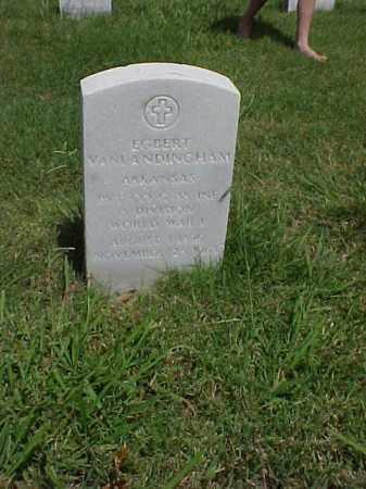 VANLANDINGHAM (VETERAN WWI), EGBERT - Pulaski County, Arkansas   EGBERT VANLANDINGHAM (VETERAN WWI) - Arkansas Gravestone Photos