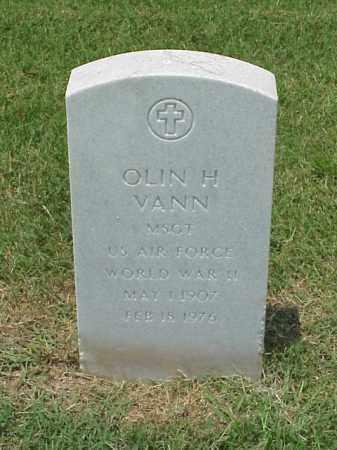 VANN (VETERAN WWII), OLIN H - Pulaski County, Arkansas | OLIN H VANN (VETERAN WWII) - Arkansas Gravestone Photos