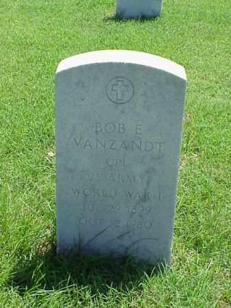VANZANDT (VETERAN WWI), BOB E - Pulaski County, Arkansas | BOB E VANZANDT (VETERAN WWI) - Arkansas Gravestone Photos