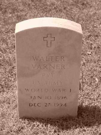 VARNER (VETERAN WWI), WALTER - Pulaski County, Arkansas | WALTER VARNER (VETERAN WWI) - Arkansas Gravestone Photos