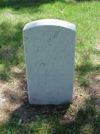 VARNEY (VETERAN WWI), SIDNEY W - Pulaski County, Arkansas   SIDNEY W VARNEY (VETERAN WWI) - Arkansas Gravestone Photos