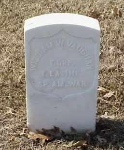 VAUGHAN  (VETERAN SAW), WILLIAM W - Pulaski County, Arkansas   WILLIAM W VAUGHAN  (VETERAN SAW) - Arkansas Gravestone Photos