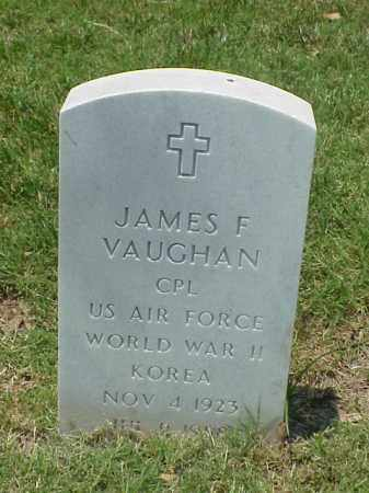 VAUGHAN (VETERAN 2 WARS), JAMES F - Pulaski County, Arkansas | JAMES F VAUGHAN (VETERAN 2 WARS) - Arkansas Gravestone Photos