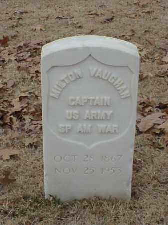 VAUGHAN (VETERAN SAW), MILTON - Pulaski County, Arkansas | MILTON VAUGHAN (VETERAN SAW) - Arkansas Gravestone Photos
