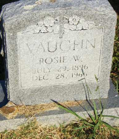 VAUGHN, ROSIE W. - Pulaski County, Arkansas   ROSIE W. VAUGHN - Arkansas Gravestone Photos