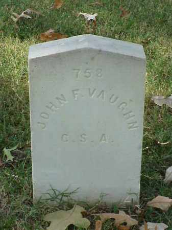 VAUGHN (VETERAN CSA), JOHN F - Pulaski County, Arkansas | JOHN F VAUGHN (VETERAN CSA) - Arkansas Gravestone Photos