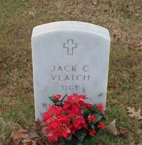 VEATCH (VETERAN WWII), JACK C - Pulaski County, Arkansas   JACK C VEATCH (VETERAN WWII) - Arkansas Gravestone Photos