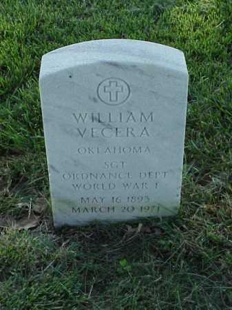 VECERA (VETERAN WWI), WILLIAM - Pulaski County, Arkansas   WILLIAM VECERA (VETERAN WWI) - Arkansas Gravestone Photos