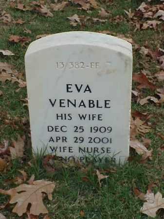 VENABLE, EVA - Pulaski County, Arkansas   EVA VENABLE - Arkansas Gravestone Photos