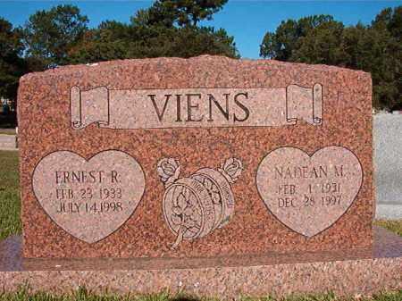VIENS, ERNEST R - Pulaski County, Arkansas   ERNEST R VIENS - Arkansas Gravestone Photos