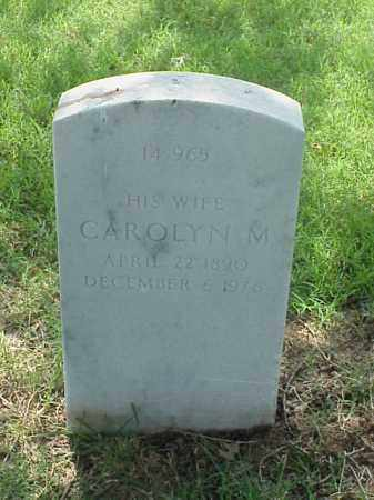 VILLARS, CAROLYN M - Pulaski County, Arkansas | CAROLYN M VILLARS - Arkansas Gravestone Photos