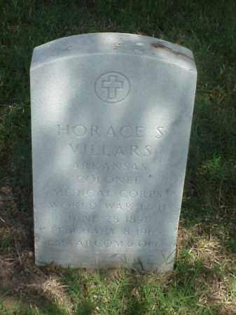 VILLARS (VETERAN 2 WARS), HORACE S - Pulaski County, Arkansas | HORACE S VILLARS (VETERAN 2 WARS) - Arkansas Gravestone Photos