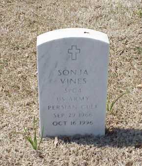 VINES (VETERAN PGW), SONJA - Pulaski County, Arkansas | SONJA VINES (VETERAN PGW) - Arkansas Gravestone Photos