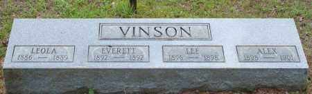 VINSON, EVERETT - Pulaski County, Arkansas | EVERETT VINSON - Arkansas Gravestone Photos
