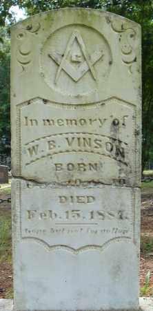 VINSON, W.B. - Pulaski County, Arkansas   W.B. VINSON - Arkansas Gravestone Photos