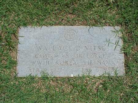 VITSE (VETERAN 3 WARS), WALLACE D - Pulaski County, Arkansas | WALLACE D VITSE (VETERAN 3 WARS) - Arkansas Gravestone Photos