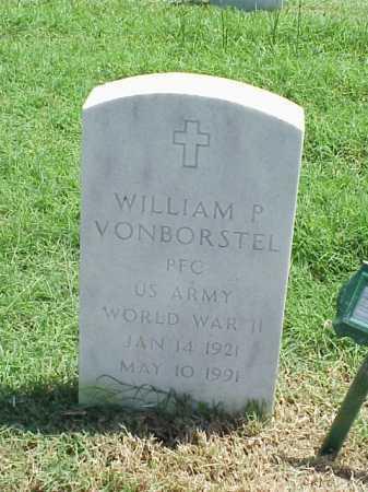 VONBORSTEL (VETERAN WWII), WILLIAM P - Pulaski County, Arkansas | WILLIAM P VONBORSTEL (VETERAN WWII) - Arkansas Gravestone Photos