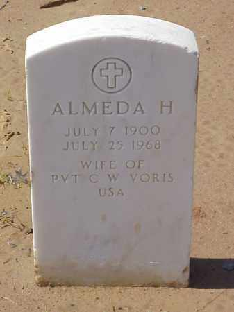 VORIS, ALMEDA H. - Pulaski County, Arkansas   ALMEDA H. VORIS - Arkansas Gravestone Photos