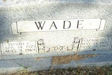 WADE, ELIZABETH V - Pulaski County, Arkansas | ELIZABETH V WADE - Arkansas Gravestone Photos