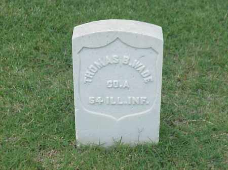 WADE (VETERAN UNION), THOMAS B - Pulaski County, Arkansas | THOMAS B WADE (VETERAN UNION) - Arkansas Gravestone Photos