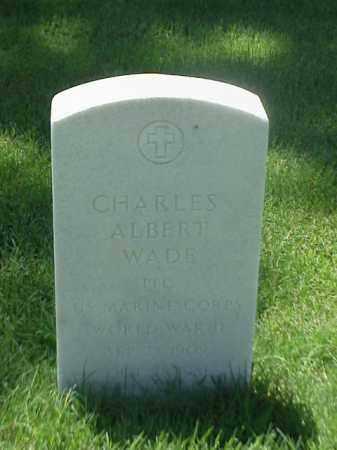 WADE (VETERAN WWII), CHARLES ALBERT - Pulaski County, Arkansas | CHARLES ALBERT WADE (VETERAN WWII) - Arkansas Gravestone Photos