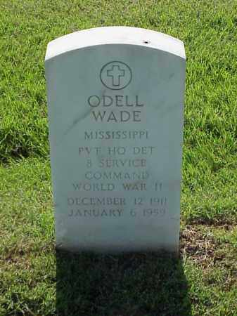 WADE (VETERAN WWII), ODELL - Pulaski County, Arkansas | ODELL WADE (VETERAN WWII) - Arkansas Gravestone Photos