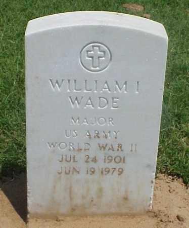 WADE (VETERAN WWII), WILLIAM I - Pulaski County, Arkansas | WILLIAM I WADE (VETERAN WWII) - Arkansas Gravestone Photos