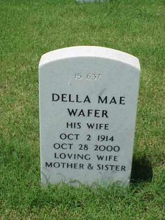 WAFER, DELLA MAE - Pulaski County, Arkansas | DELLA MAE WAFER - Arkansas Gravestone Photos