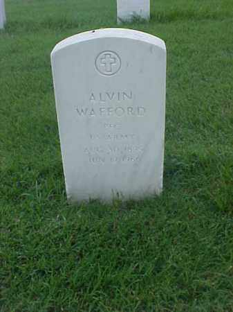 WAFFORD (VETERAN WWI), ALVIN - Pulaski County, Arkansas | ALVIN WAFFORD (VETERAN WWI) - Arkansas Gravestone Photos